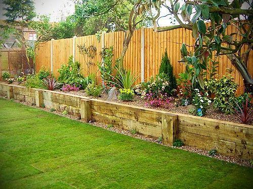 Gazon synthétique jardinières