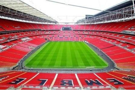 Wembley Stadium avec du gazon synthétique